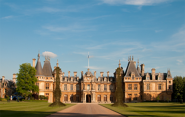 LAFITE WADDESDON MANOR, BUCKINGHAMSHIRE permanent installation